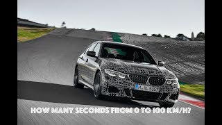 BMW M340i - Launch Control, 0 to 100 km/h and 0 to 200 km/h