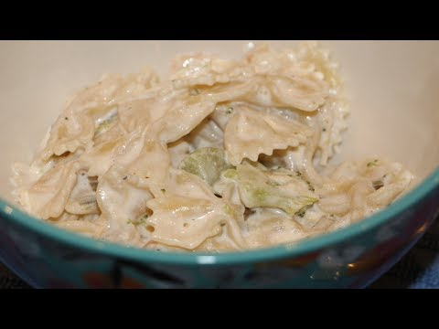 CREAMY BOWTIE CHICKEN RECIPE/QUICK AND EASY PASTA DISH/CHERYLS HOME COOKING/EPISODE 622