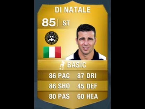 FIFA 14 Di Natale 85 Player Review  In Game Stats Ultimate Team  YouTube