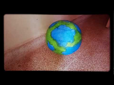 School Project - Earth 3D Model (www.schoolprojectcenter.in)