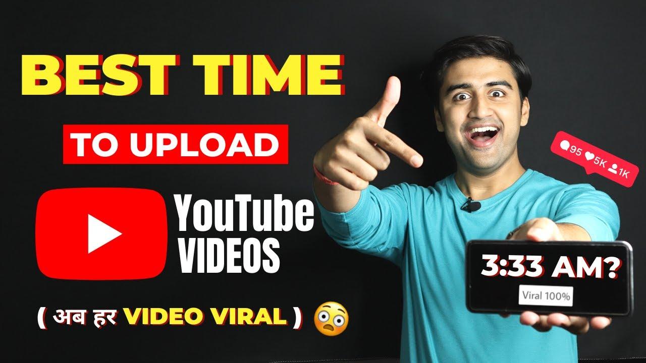 Best Time to Upload Videos On YouTube 2021🔥  Youtube Videos Upload Karne ka Sahi Tarika in Mobile✅