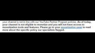 Channel demonetised, future in peril, what happened.