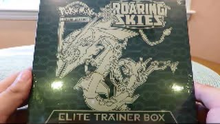 Opening the BEST Pokemon Roaring Skies Elite Trainer Box! EPIC Pulls!