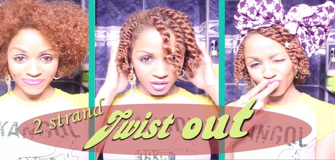 Strand Twist On Natural Hair