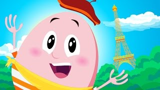 Humpty Dumpty Around The World | Kids Songs | by Little Angel
