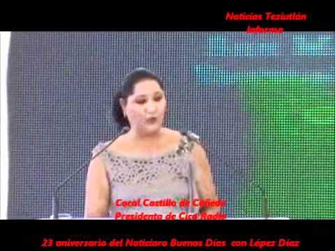 """Aniversario de """"buenos días con López Díaz"""""""