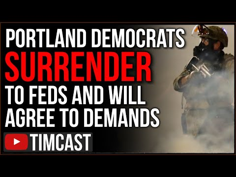 Democrats Have SURRENDERED In Portland, Agree To Demands From DHS And Trump, Abandon Antifa Leftists
