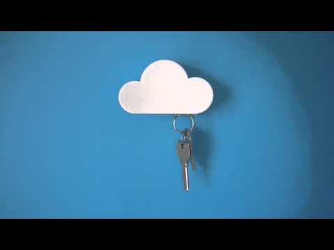 Đám Mây nam châm Treo chìa khóa