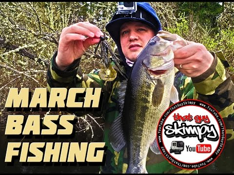 March Bass Fishing with Jigs in Washington State