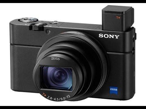 Настройки Sony RX100 Mark 7 для начинающих.