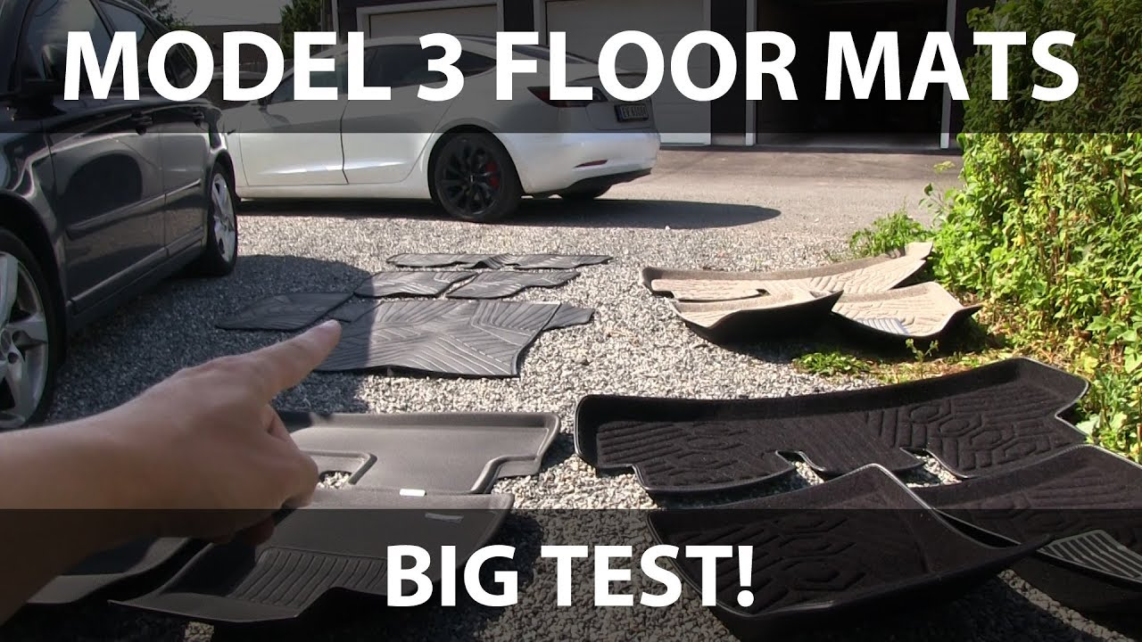 MAXpider All-Weather Custom Fit Front and Rear Seats, Frunk and Trunk Floor  Liners for Model 3      Frunk & Rear Trunk Liners are OUT OF STOCK TILL