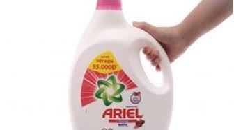 [VẠCH TRẦN] Nước giặt ariel có thật sự chất lượng?