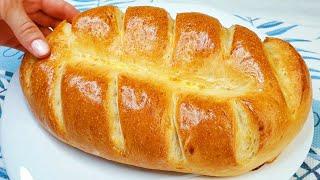 Я больше не покупаю хлеб! Новый идеальный рецепт быстрого хлеба! домашний хлеб