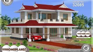 Indian House Design By 99HOMEPLANS COM [ Esp: M083 ]