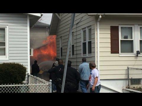 Belleville NJ Fire Dept 2nd Alarm 64 Wallace St Heavy Fire in a ...