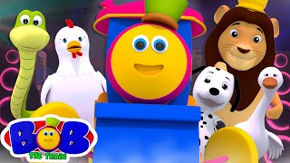 Animal Sound Song | Learning Videos for Babies | Nursery Rhymes & Kids Songs by Bob The Train
