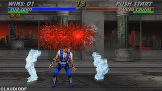 Mortal Kombat 3 - SUB-ZERO - (GameCube)【TAS】