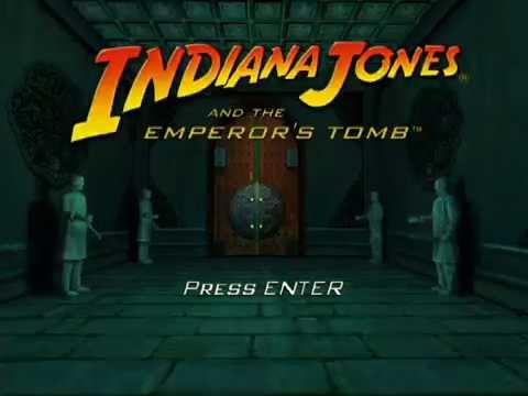 Indiana Jones and the Emperor's Tomb№1 Начало прохождения