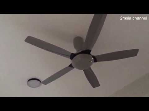 Kdk Ceiling Fan Led Lamp Door Chime After Installation Quick View Malaysia Home Appliances Youtube