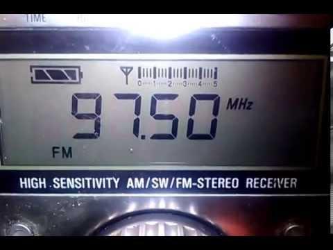 Las Vegas FM Radio Bandscan 8-2-2014