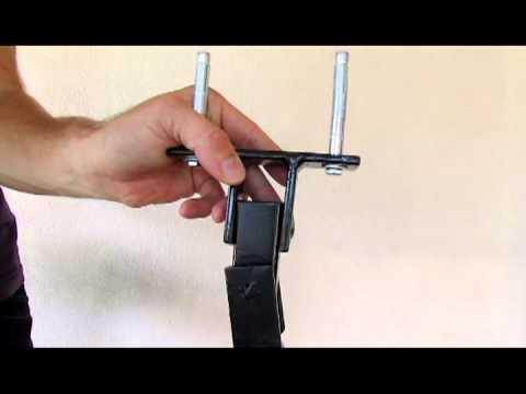 Suporte para saco de pancada suporte de teto articulado - Como instalar una hamaca en la pared ...