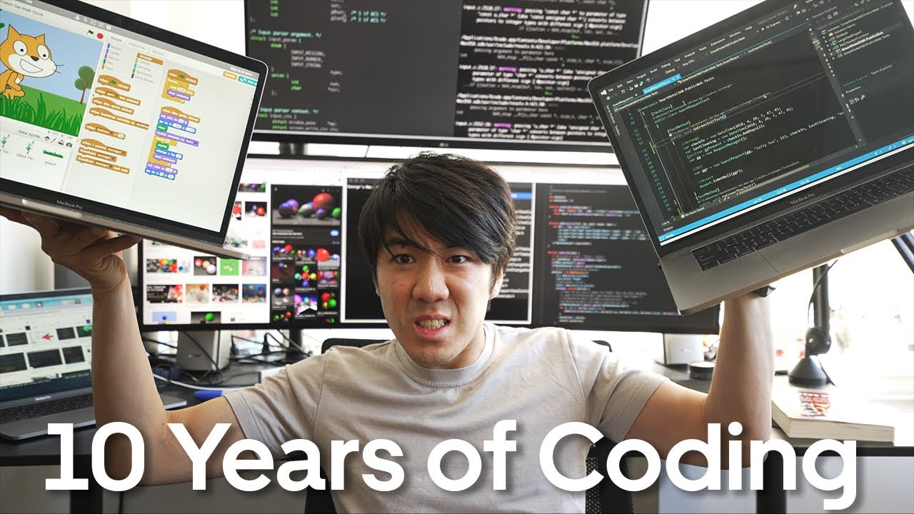 Download 10 years of coding in 13 minutes