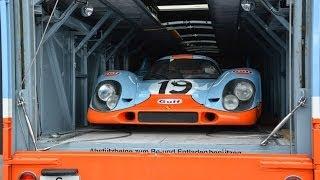 Le Mans Classic 2014 : The Paddock (Porsche 917)