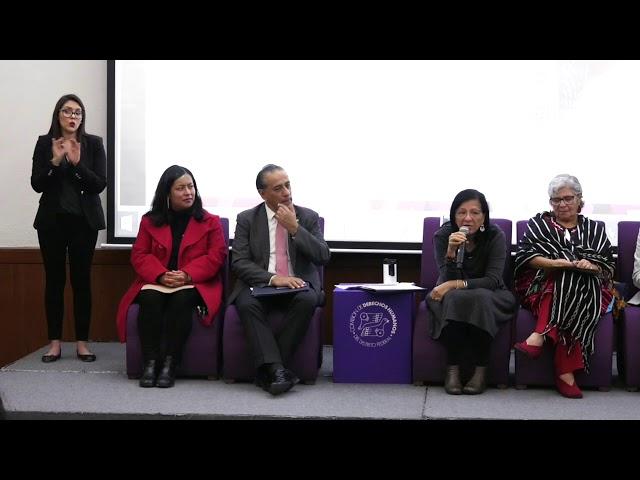 Discurso de la Presidenta de #CDHCM en Ceremonia de premiación Derechos al Aire
