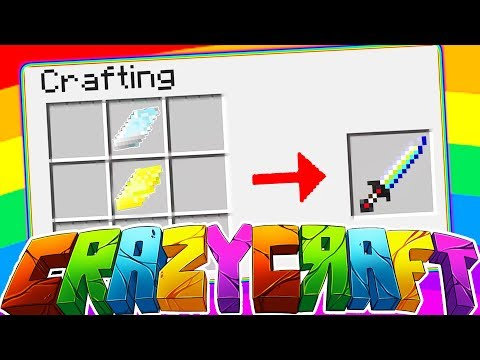 ULTIMATE SWORD ORESPAWN MOD w/ TEWTIY, ALEXACE, AND FRIZZLENPOP - MINECRAFT CRAZY CRAFT SURVIVAL #5