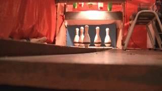 five pin bowling strike
