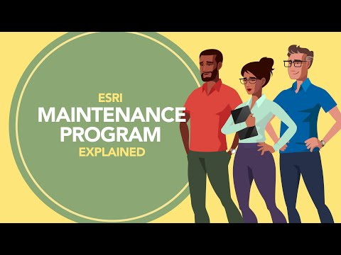 Esri Maintenance Program Explained