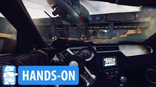 Need For Speed No Limits VR Hands-On / Gameplay on Daydream VR