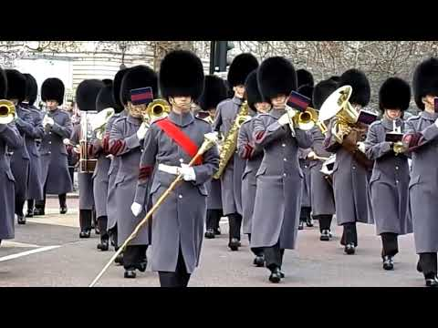Changing The Guard - Band Of The Scots Guards 2/1/2019