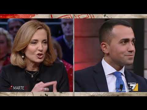Barbara Palombelli A Luigi Di Maio I Miei Due Figli Hanno Perso Il Lavoro A Causa Del Jobs Youtube