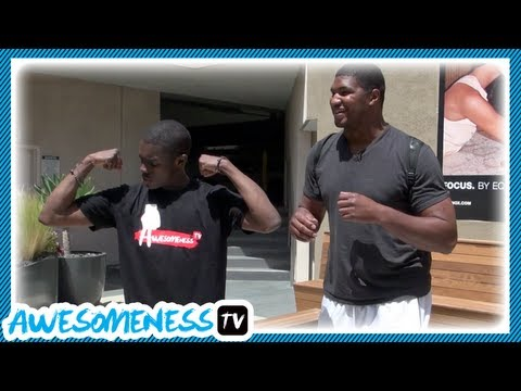 How to Work Out with NFL Pro Calais Campbell - How To Be Awesome Ep. 6