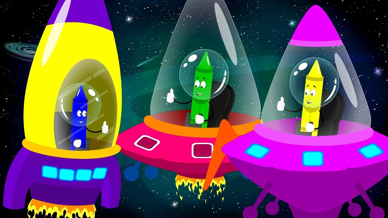 Space Race | Fun Song For Kids | Nursery Rhymes and Baby Song