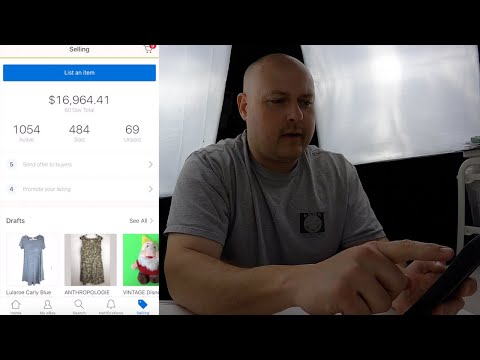 EBAY: How To LIST From Your PHONE Using The EBay App