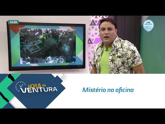 Mistério na oficina: Bruno Ventura comenta caso da moto que ligou e saiu andando sozinha