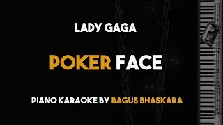 Lady Gaga - Poker Face (Piano Karaoke Backing Track with Lyrics on Screen)