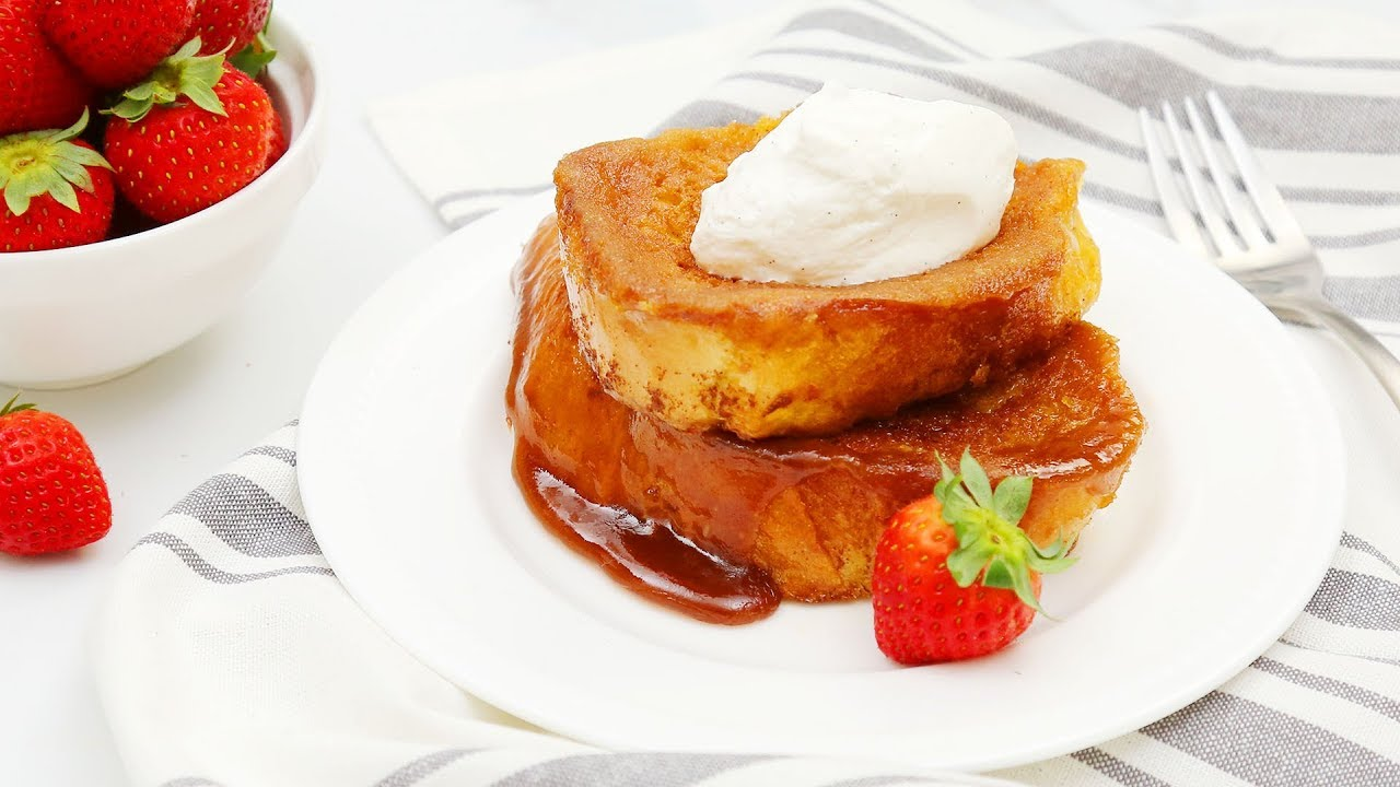 3 New French Toast Recipes Creme Brulee Banana Bread Ham Swiss