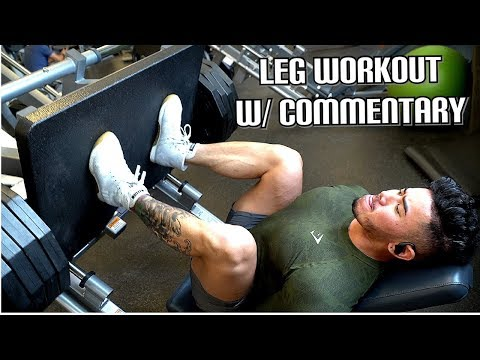 EXHAUSTING LEG WORKOUT W/ COMMENTARY | 16 WEEKS OUT ARNOLD CLASSIC