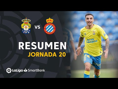 Las Palmas Espanyol Goals And Highlights