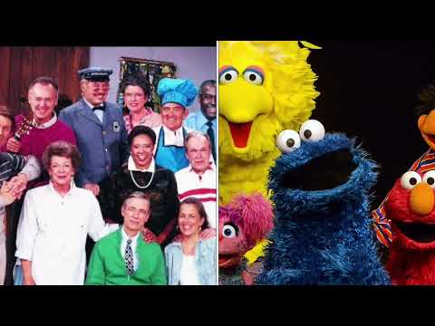 The Muppets Of Sesame Street And The Cast Of Mr Rogers Neighborhood Sing It S Such A Good Feeling Youtube