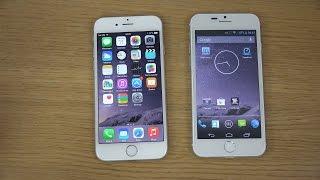 iphone 6 vs goophone i6 camera review comparison 4k