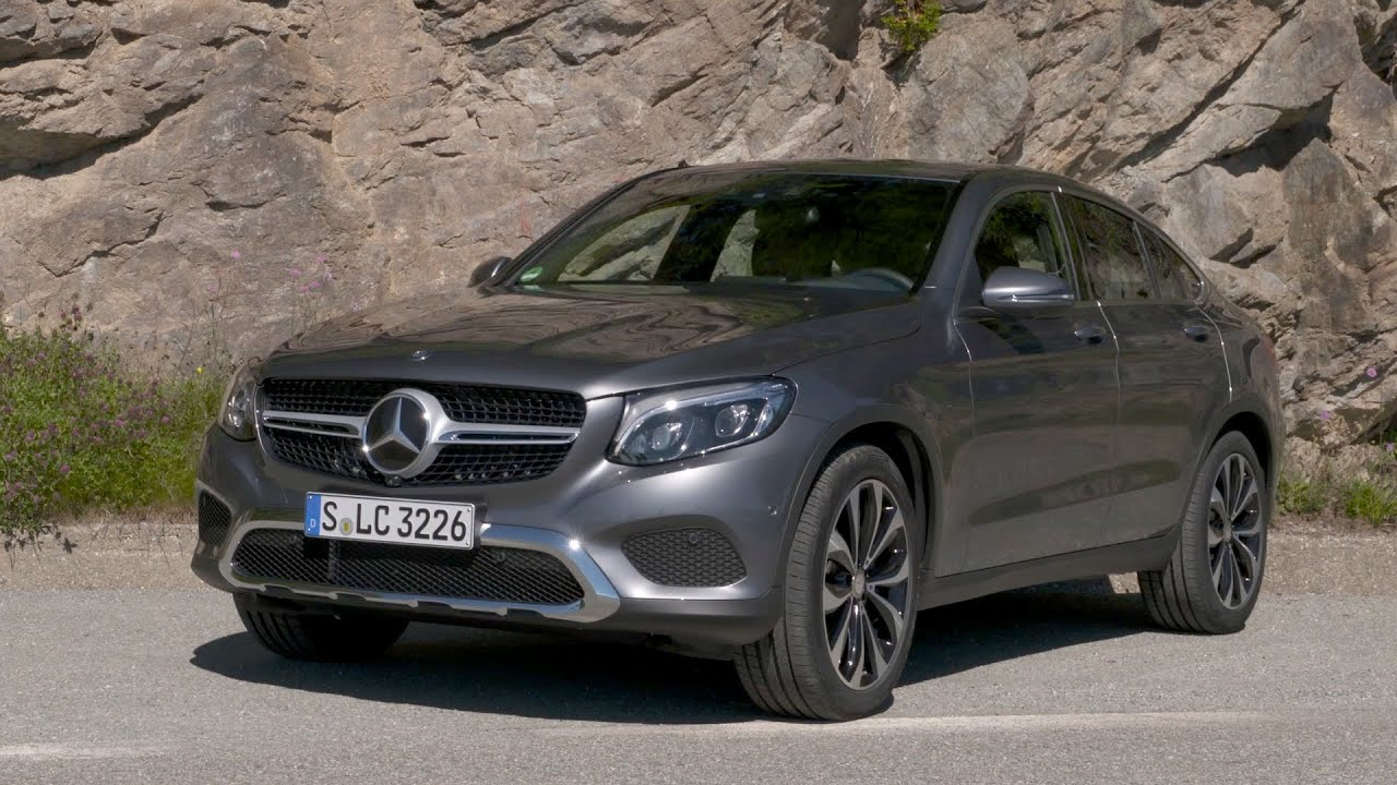 Mercedes Benz Glc 250 D 4matic Coupe Youtube