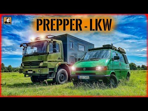 160.000€ PREPPER LKW - Vom Bundeswehrfahrzeug zum SUPER CAMPER | Survival Mattin
