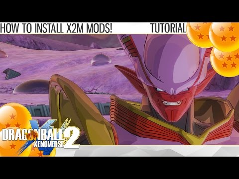 (2K) Dragon Ball Xenoverse 2 - How to Install Mods with X2M Method Fast and Easy! (Tutorial)