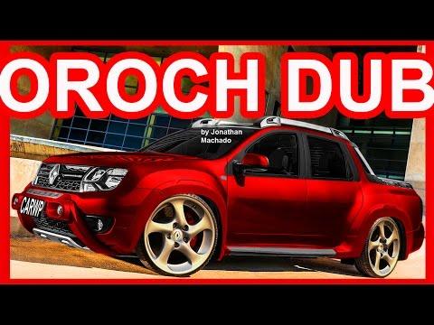 4K PHOTOSHOP Renault Duster Oroch DUB #OROCH