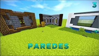 Minecraft: Dicas de Construção -3: PAREDES