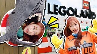 도둑 잡아라!! 덴마크 레고랜드 경찰과 도둑 변신 아쿠아리움 놀이공원 놀이 LEGO - 지니